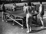 Table Tennis Fun Photographic Print