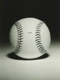 Baseball Ball, Close-Up Photographic Print by George Marks
