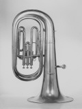 Studio Shot of Euphonium Photographic Print by George Marks