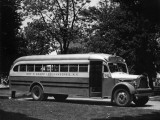 School Bus Photographic Print by George Marks