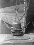 Moored Boat, Close-Up Photographic Print by George Marks