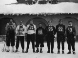 Cambridge Ski Team Lámina fotográfica