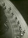 Bike Race Reproduction photographique par George Marks