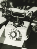 Old-Fashioned Telephone Photographic Print by George Marks