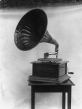Early Gramophone Photographic Print