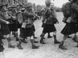 Scottish Regiment Photographic Print