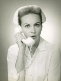 Nurse on Telephone Photographic Print by George Marks