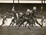 Football Game in Progress Photographic Print by George Marks