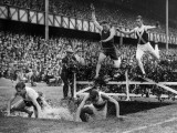 Steeplechase Jump Photographic Print