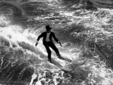Water-Skiing Tails Reproduction photographique