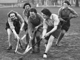Jolly Hockey Sticks Photographic Print