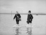 Holy Island Pilgrims Photographic Print
