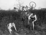 Harriers and Cyclists Photographic Print
