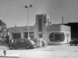 Gas Station Photographic Print by George Marks