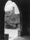 Car Outside Pub Photographic Print