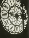 Tower Clock Seen From Inside Photographic Print