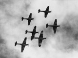 Battle Bombers Photographic Print
