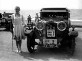 Road Rally Car Photographic Print