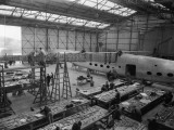 Plane Factory Photographic Print