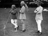 Polo Servants Photographic Print