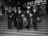 Homing Sailors Photographic Print