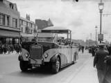 Blackpool Bus Lámina fotográfica
