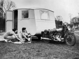 Cycle Caravan Photographic Print