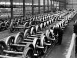 Wheel Factory Photographic Print