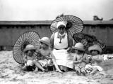 Beach Children Photographic Print