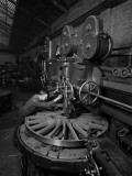 Boring Wheels Photographic Print