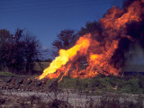 Flame Thrower Photographic Print