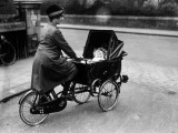 Cycle Pram Photographic Print