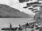 Scottish Picnic Photographic Print