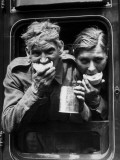 Hungry Soldiers Photographic Print
