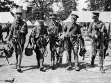 Cavalrymen Photographic Print