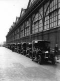 Fleet of Cabs Photographic Print