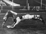 Baseball Dive Photographic Print