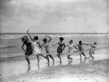 Dance Troupe Photographic Print