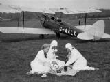 Pilots' Picnic Photographic Print