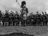 Bagpipe Band Photographic Print