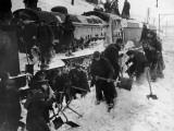 Snowbound Train Photographic Print