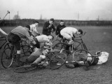 Bicycle Polo Photographic Print