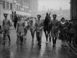 German Riders Photographic Print