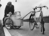 Bicycle Trailer Photographic Print