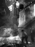 Steelworkers Photographic Print