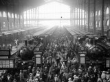 Gare Du Nord Photographic Print