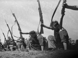 Bayonet Drill Photographic Print