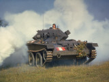 Tank in Action Photographic Print