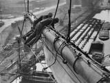 Mast Work Photographic Print