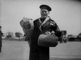 Navy Leave Photographic Print